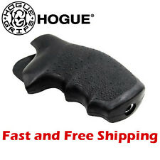 Hogue Grip S&W J Small Frame Soft Rubber Round Butt Monogrip w/ Finger Grooves