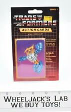 Seaspray Sealed Pack Card #30 of Transformers Trading Action Cards 1985 G1