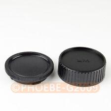 DSLRKIT Rear Lens + Camera body Cover cap For Leica M LM Camera