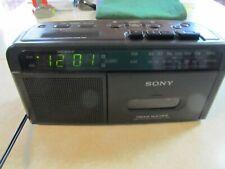 Sony Dream Machine, Fm, Am, Radio, Cassette, Dual Alarm ICF-C610