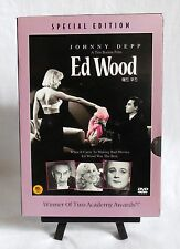 Ed Wood (DVD, 2002, Special Edition) Region 3 (Korean / Thai) **RARE**
