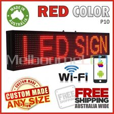 LED SIGN  RED WiFi Control Scrolling Programmable Message Display 670x190 AU