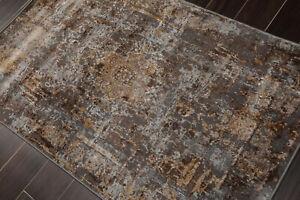 loomBloom 3' x 5' Anatolia Erased Pattern Oriental Area Rug 3x5 Beige, Brown