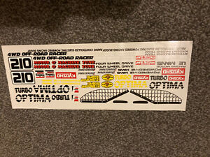 kyosho turbo optima Decals By MCI