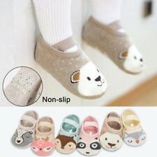 Baby Cotton Socken Schuhe Anti-Rutsch Baby Walk Socken Schuhe R5I4