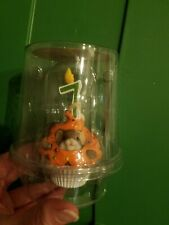 New Enesco Charming Tails Happy Birthday Mouse Cupcake Candle Figure 7