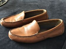 Sperry Top Sider! Leather Wave Driver Style Loafer Tan Slip On Men's 9.5
