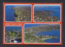Multiviews of Sydney's East Coast. Stamp/Postmark - 1986.