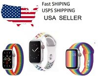 Silicone Milanese Apple Watch Pride watch Band 2020 3 Pack Series 5 4 3 2 1