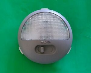 OEM Chevy Malibu Cobalt Pontiac G6 Dome Light Assembly Gray 15867543