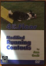 4 On The Floor: Modified Running Contacts for Dog Agility (DVD, 2005)