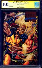 Marvel Masterpieces Collection #4 CGC SS 9.8 signed Joe Jusko NM/MT 1993