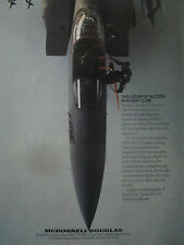 9/1989 PUB MCDONNELL DOUGLAS USAF F-15E EAGLE USAF SEAT AIRCREW TRAINING AD