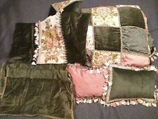 Victoria Classics JCpenney King Size Quilt floral comforter Set Throw Pillows