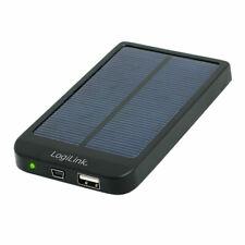 Universal PowerBank Akku Solar Ladegerät Reise Akku Handy Smartphone Tablet MP3