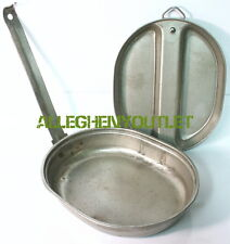 USGI Military Messkit Mess Kit Camping Cookwear Made By SMP Dated 1982 VG