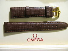 Brown OMEGA Wristwatch Straps