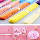 "New 5pcs Paper Tissue Pom Poms 6"" 8"" 10"" Wedding Festival Party Flower Pompom"