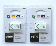 Two NP-BX1 Battery For Sony HDR-AS15 AS10 HX300 WX300 Cyber-Shot DSC-RX100 RX1