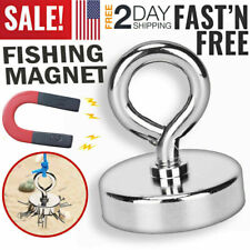 165 Magnet Lifting Hook For Magnetic Retrieving Treasure Hunt Collect Fishing