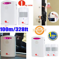 Wireless PIR Motion Sensor Alert Alarm System lot doorbell Anti-theft detecor US