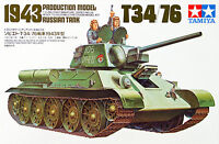 Tamiya 35059 Russian Tank 1943 Production Model T34/76 1/35 scale kit