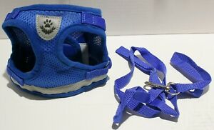 GAUTERF Dog Cat Reflective Mesh Step in Harness SMALL BREED - Several Options!
