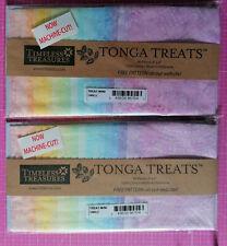 """Batik Charm Pack 40 Quadrate 5 """" oder 12,7 cm Tonga Treats Mini Smile"""