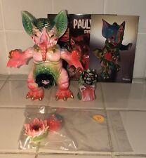 PAUL KAIJU MOCKBAT 1 Off Vinyl Figure Sofubi MVH Nagnagnag RARE!