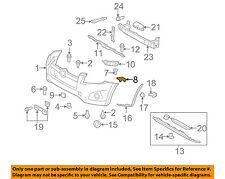 TOYOTA OEM RAV4 Front Bumper-Cover Retainer Clip or Bracket Right 525370R010