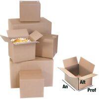 Caja embalaje canal simple 200 x 140 x 140 100 CAJAS