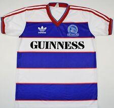 1985-1986 QUEENS PARK RANGERS ADIDAS HOME FOOTBALL SHIRT (SIZE M)