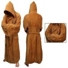 Star Wars Adult Brown Jedi/Black Sith Robe Bathrobe Cape Cloak Cosplay Costume