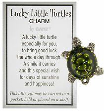 Lucky Little Turtle Pocket Charm