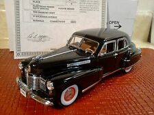 DANBURY MINT 1941 CADILLAC FLEETWOOD..1:24.RARE SERIES 60.NIB.TITLE..UNDISPLAYED