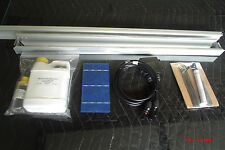 18 volt 75 watt Solar Panel kit, Complete kit with frames and glass.