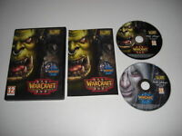 WARCRAFT III 3 REIGN OF CHAOS inc. THE FROZEN THRONE Add-On Expansion Pack Pc