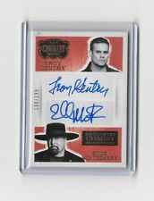 2014 Panini Country Music Combo Signatures Montgomery Gentry Autograph 190/199