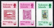 SOLOMON MNH 1979 SG384-86 100th Anniversary of the Death of Sir Rowland Hill