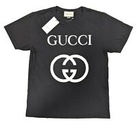 Mens Gucci T-Shirt With Interlocking G Size L NWT 100% Authentic BRAND NEW $480