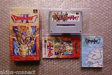"Dragon Quest VI ""Good Condition"" Nintendo Super Famicom SFC  Japan"