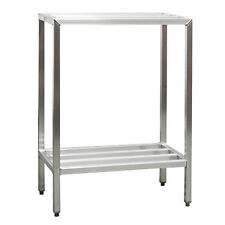 "New Age 1021 2-Tier 36""W 1500 Lb Capacity H.D. Series Shelving Unit"