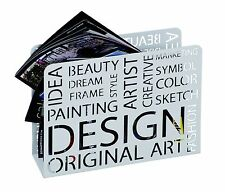Design Zeitungsständer Magazinständer Zeitungshalter Zeitngsbox Mod. 44395 Weiss