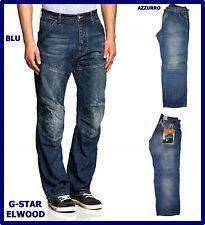 jeans g-star raw uomo denim elwood chiari g star larghi loose hip hop 50 w36