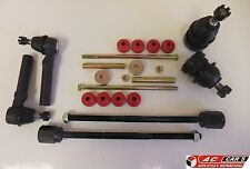 Fit Ford Mustang (94-98) 2 Lower Ball Joints 4 Tie Rod Ends 2 Sway Bar Links