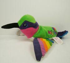 Lisa Frank Dashly Plush 1998 Stuffins Hummingbird