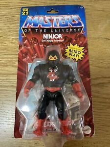 Masters of the universe origin Ninjor Motu Band New Sealed