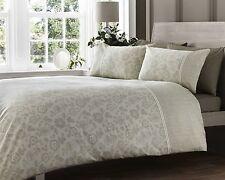 Doble cama edredón de encaje efecto natural de 300 Hilos De Lujo Floral