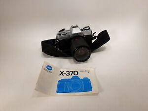 Vintage MINOLTA X-370 35mm SLR Film Camera Untested Read Description        (12)