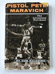 1974 Pistol Pete Maravich The Louisiana Purchase Book by Tom Saladino RARE